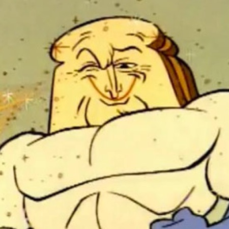 Picture of Powdered Toast Man